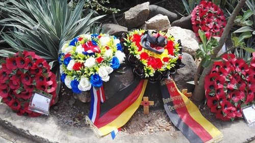 Franco-German floral wreath on the occasion of the remembrance ceremony on (...)