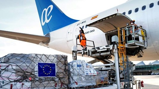 Covid-19 - Launch of a humanitarian airlift to third countries by the (...)